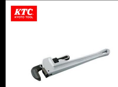 KTC Aluminum Pipe Wrench 600mm, APWA-600