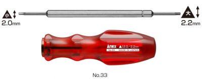 Anex #33 Gamer Controller Screwdriver