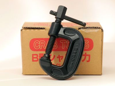 """Crab 1"""" Drop Forged C-Clamp, BC-25"""