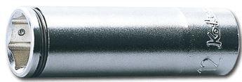 Koken 3/8dr. Deep Nutgrip Socket, 10mm,  3350M-10