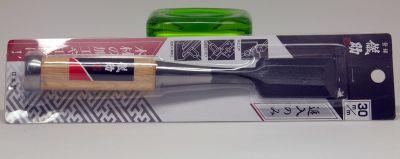 Japanese Laminate Steel Wood Chisel, 30mm