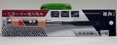 Japanese Laminate Steel Wood Chisel, 12mm