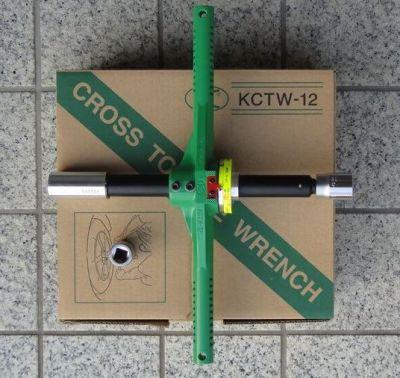 Kuken KTCW-12 Wheel Cross Handle Torque Wrench