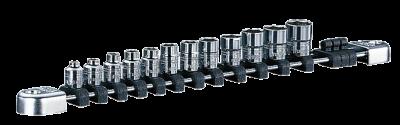Nepros 1/4dr Socket Set, NTB212A