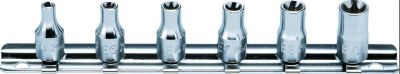 Koken 1/4dr. Torque Socket Set, RS2425/6