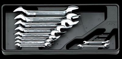 KTC 10pc Open End Wrench Set, TS210